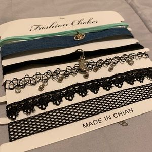 A 6 pack of chokers (new, no tag on package)